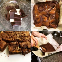 Caramel brownies <3