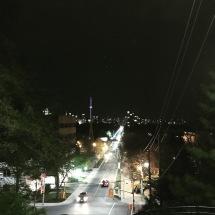 Spadina stairs at 1:30am