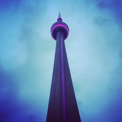 CN Tower at 5:47am