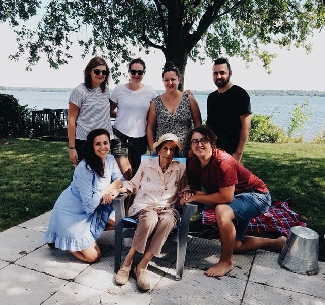 can you believe my grandma is about to turn 98? and that everyone else in this photo is my sibling? #familyreunion2018.jpg
